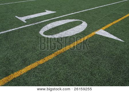 The Ten yard line poster