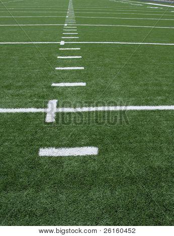 American Football Yard Lines