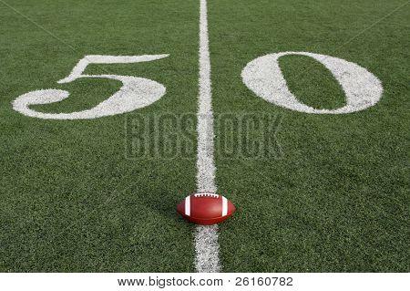 Collegiate football near the Fifty