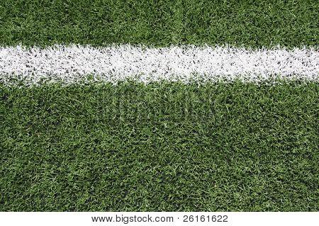 -Yard-Linie eines Fußballfeldes mit Platz für Kopie