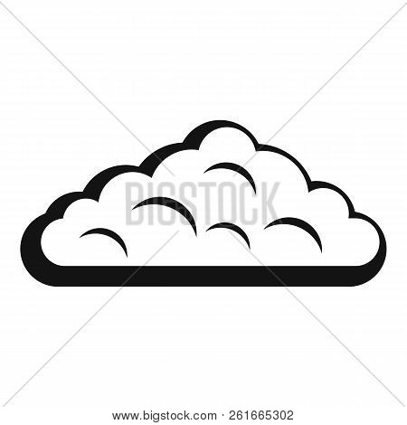 Wet Cloud Icon. Simple Illustration Of Wet Cloud Icon For Web