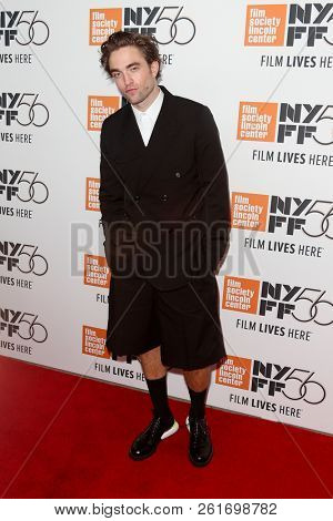 NEW YORK - OCT 2: Actor Robert Pattinson attends the