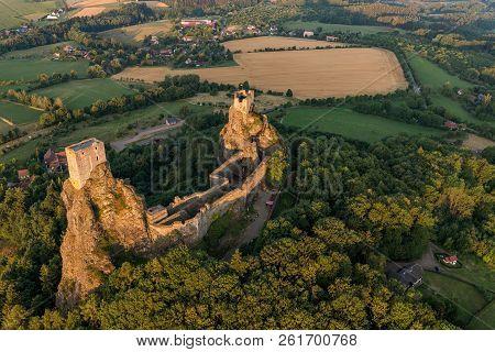 Trosky Castle In Bohemian Paradise