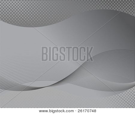 Abstract corporate background grey