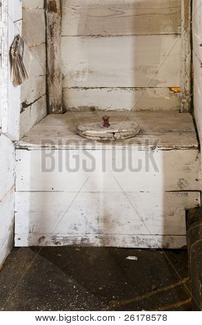 Traditional Dutch toilet