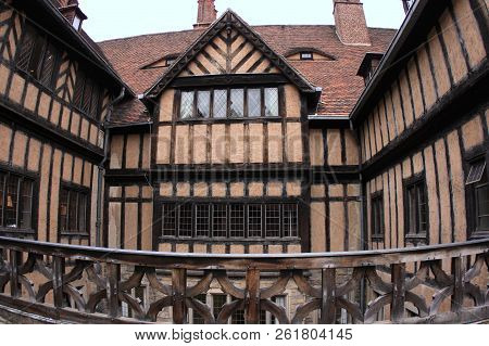 Cecilienhof Palace, unesco world heritage in Potsdam, Germany poster