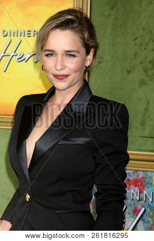 LOS ANGELES - OCT 4:  Emilia Clarke at the