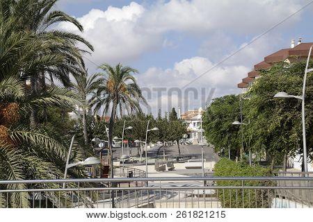Pila De La Horadada Spain - 05 Oct 2018 : View Of Town Area