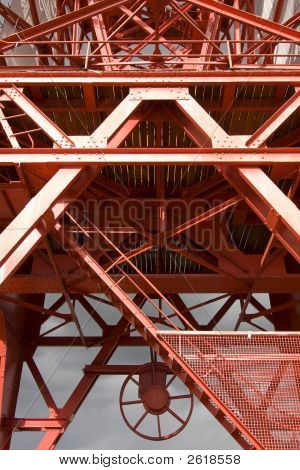 Red Steel Structure