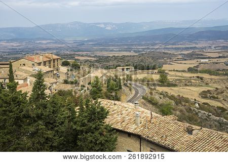 Views Of Sos Del Rey Catolico. It Is A Historic Town And Municipality In The Province Of Zaragoza, A