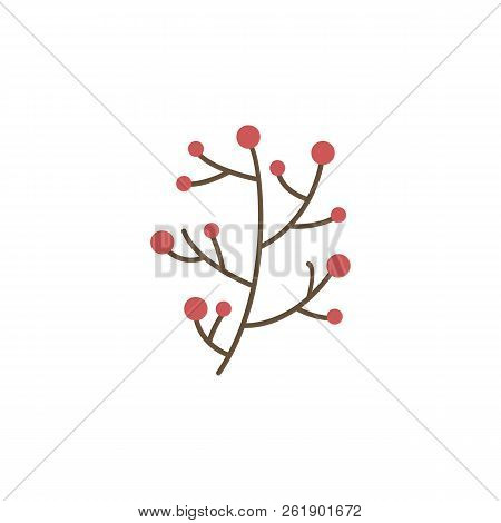 Berries Color Icon. Elements Of Winter Wonderland Multi Colored Icons. Premium Quality Graphic Desig