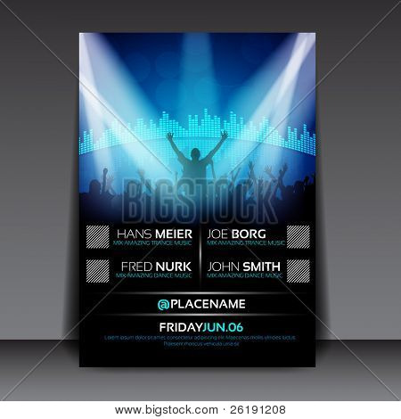 Colorful EPS10 design – Sensation Party - Vector Background in A/3 size