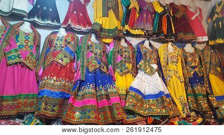 Pashtoon Ladies Triditional Cloths, 26/06/2018 - Very Colorful And Vibrant Cloths