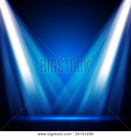 EPS10 Vector Stage Lights