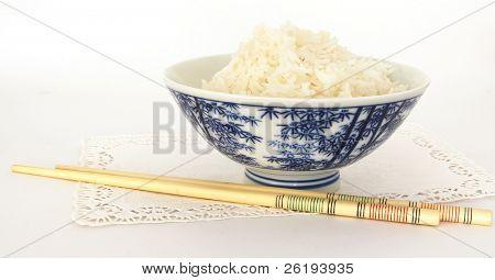 Ricebowl and chopsticks