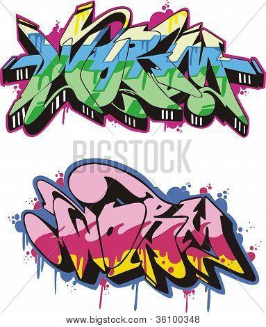 Graffito - Worm