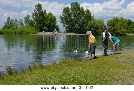 Boys At The Pond