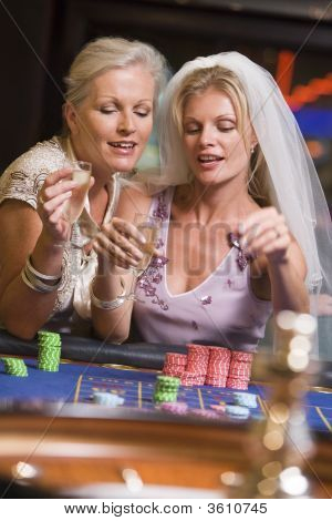 Bride To Be Playing Roulette