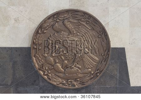 Mexican Seal Monument