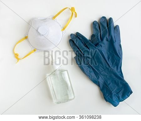 Personal Protective Equipment with NIOSH 95 Mask