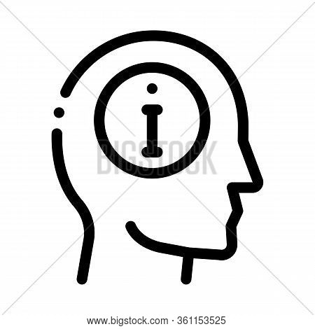 Witness Icon Vector. Witness Sign. Isolated Contour Symbol Illustration