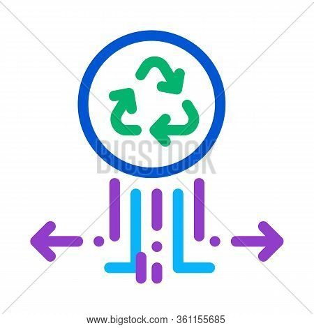 Environmental Labeling Popularity Icon Vector. Environmental Labeling Popularity Sign. Color Symbol
