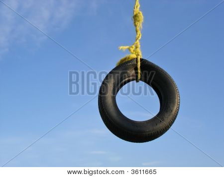 Summer Tire Swing