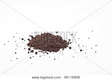 Grains And Cocoa Powder