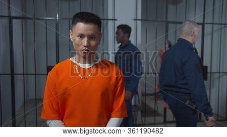 Criminal In Jail. Gangs In Us Prisons