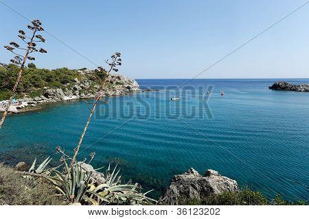 Anthony Quinn Bay, Rhodes Greece