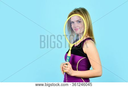 Woman Playing Tennis Game. Challenge And Concentration In Competition. Female Athlete Plays Tennis O