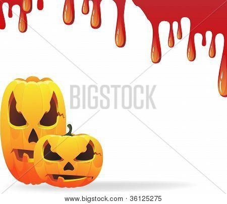 Bloody Halloween Background