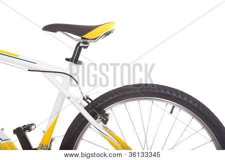 Bicycle Close-up Isolated