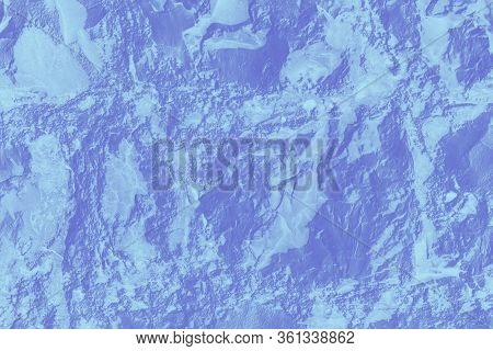 Wall Sandstone Texture Background. Purple Gray Grunge Surface, Stone Vintage Texture. Voluminous Bac