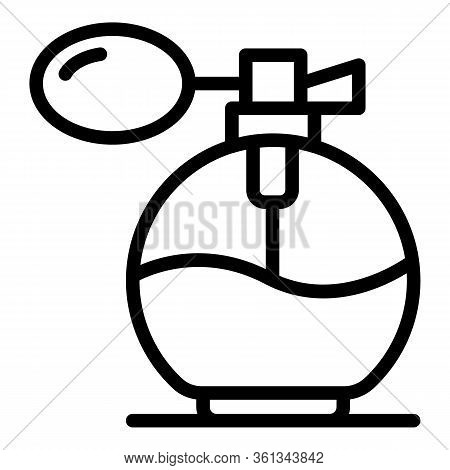 French Fragrance Icon. Outline French Fragrance Vector Icon For Web Design Isolated On White Backgro
