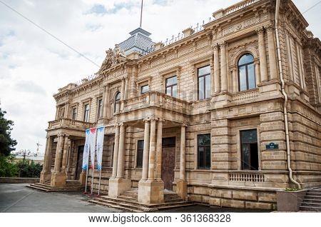 Baku, Azerbaijan - May 16, 2017: National Art Museum Of Azerbaijan