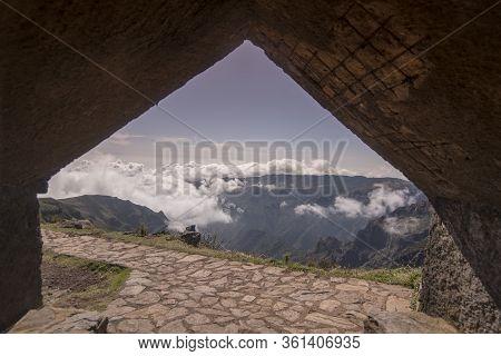 Portugal Madeira National Park Landscape