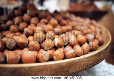 Nocciola Piemonte Igp, Also Known As Tonda Gentile Di Langa, Hazelnut Variety Produced In Piedmont (
