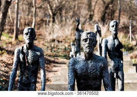 Prague, Czech Republic - February 2, 2020: Memorial To The Victims Of Communism In Prague. Created B