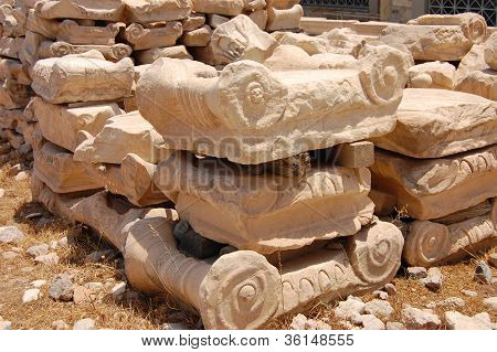 Fragments Of Ancient Columns