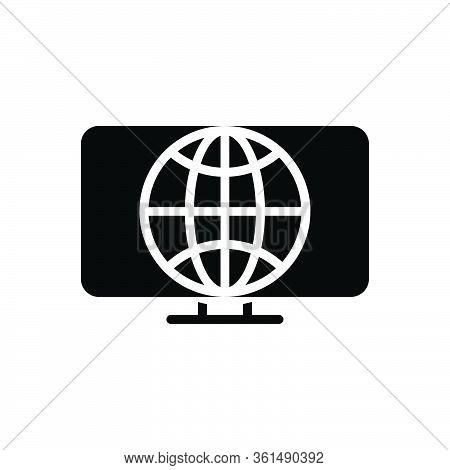 Black Solid Icon For Web Initiative Development
