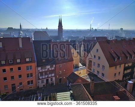 View From Kaiserburg Fortress, Nuremberg, Germany