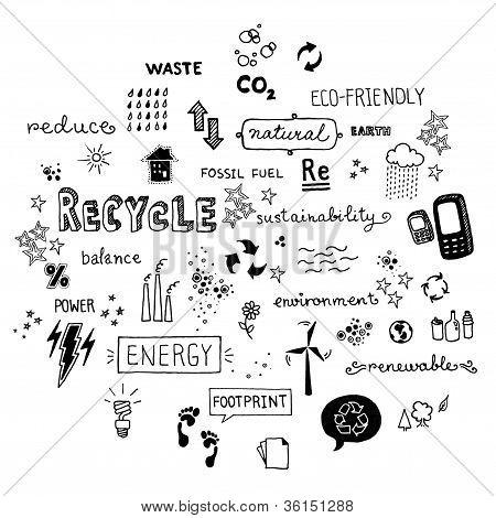 Eco-friendly doodles