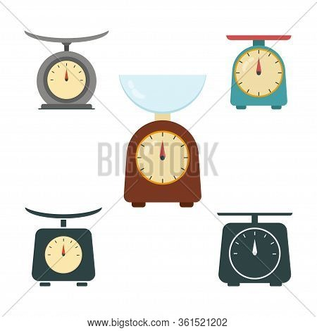 Set Kitchen Scales, Balance, Libra, Kitchen Scales.