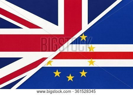 United Kingdom Of Great Britain And Ireland Or Uk Vs Republic Of Cabo Verde Or Cape Verde National F