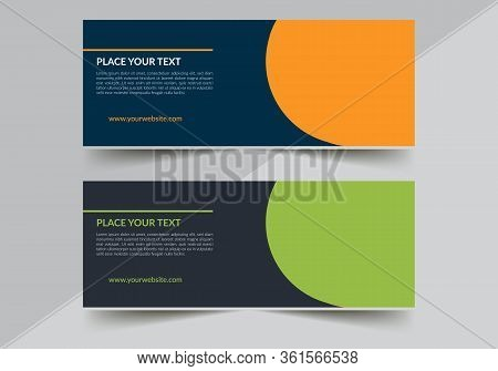 Abstract Poster Vector. Facebook Cover. Green Banner. Gym Banner