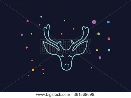 Deer Icon Art. Deer Icon Eps. Deer Icon Image. Deer Icon Logo. Deer Icon Sign. Deer Icon Flat. Deer