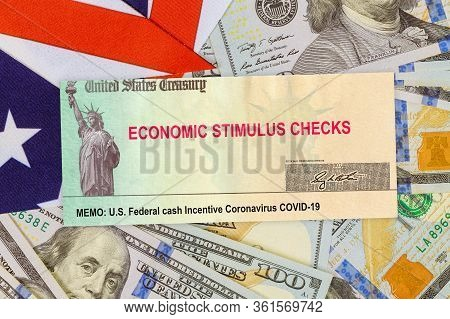 Global Pandemic Lockdown Stimulus Package Relief On Stimulus Financial Government Assistance To Word