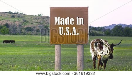 American  Cows Are Made In The Usa.