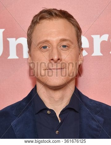 LOS ANGELES - JAN 11:  Alan Tudyk on the red carpet at the NBCUniversal Winter TCA 2020 on January 11, 2020 in Pasadena, CA